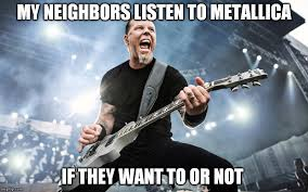 Metallica Meme - image tagged in metallica imgflip