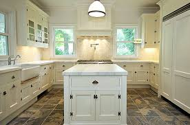 White Kitchen Cabinets With Tile Floor Kitchen Cool Kitchen Tile Floor Designs White Kitchen Tile Floor