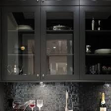 glass front pantry cabinets design ideas