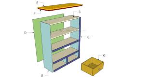 Bookcase Plans With Doors Bookcase Plans Bookcase Plans Built In Simple Bookcase Plans Pdf