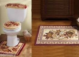 Bathroom Rugs And Accessories Bathroom Accessories Bathroom Rug Sets Country Primitive