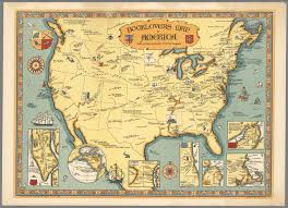 United States Map Compass by Booklovers Map Of America David Rumsey Historical Map Collection
