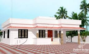 Square Feet To Square Meter 851 Sq Ft Single Floor Home U2013 Kerala Home Design