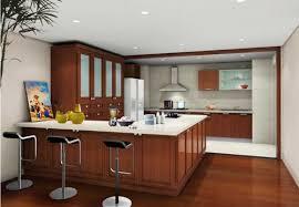 Modern Kitchen Brown Cabinets Kitchendecoratenet - Brown cabinets kitchen