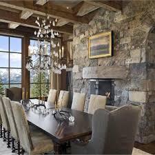 rustic elegant dining room decorating home ideas