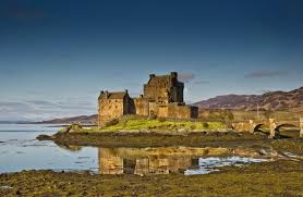 medieval eilean donan castle scotland castles wallpaper