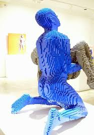 Nathan Sawaya \ brick Art Work lego design