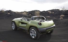 modded jeep renegade my gypsy modification under process team bhp