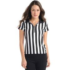 Halloween T Shirts For Girls Amazon Com Referee Shirt For Sports Bars With Collar U0026 Zip Front