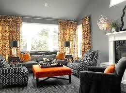 orange living room decor best orange living rooms ideas on orange