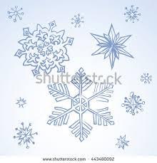 snowflake winter sketch stock illustration 110898098 shutterstock