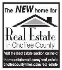 the chaffee county times real estate for rent