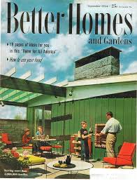 House And Garden Ideas Better Homes And Garden Cover September 1954 Home Plans