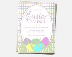 easter brunch invitations easter invitation etsy
