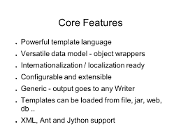 freemarker introduction core features java part example