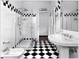 black and white bathroom decorating ideas black and white tile bathroom decorating ideas tiles home
