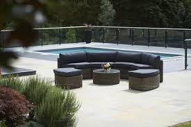 Patio Furniture Sets Uk - contempo curved sectional sofa by lloyd flanders all weather