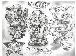 chicano tattoo designs tattoovoorbeeld allenamento pinterest