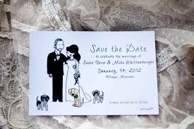 save the date wedding invitations they can create a mini version of the two of you or a mini version