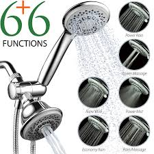 Bed Bath And Beyond Shower Heads Amazon Com Hotelspa Aquastorm 30 Setting Spiralflo 3 Way Shower