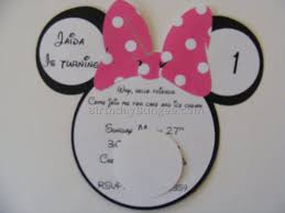 minnie mouse birthday invitations 11 best birthday resource gallery