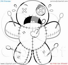 13 pics scary doll coloring pages voodoo doll coloring pages