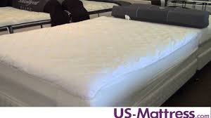 Feather Bed Toppers Sealy Posturepedic Sure Elegance Mattress Pad By Pacific Coast
