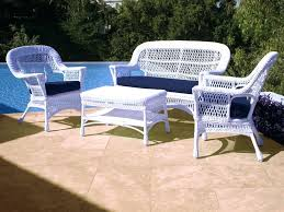 white wicker resin outdoor furniture resin wicker patio furniture