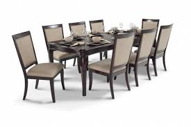 bobs furniture kitchen table set gatsby 9 dining set with side chairs bob s discount furniture