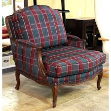 wonderful plaid chair and ottoman home decorating