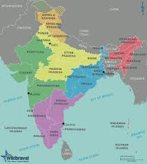 India Map Blank With States by Map Outline With States Name