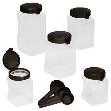 Glass Kitchen Canister Sets Snapware Kitchen Storage U0026 Organization Kitchen The Home Depot