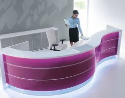 Curved Reception Desk For Sale Chair Valde Wave Design Curved Reception Desk Wonderful