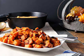 how to make sweet potato for thanksgiving bourbon butter sweet potatoes the speckled palate