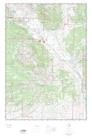 Topographical Map Of Colorado by Mytopo Crested Butte Colorado Usgs Quad Topo Map
