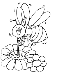 bumblebee coloring sheet coloring