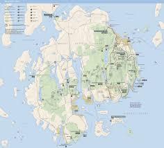 national harbor map file nps acadia map jpg wikimedia commons
