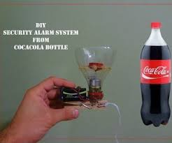 siege coca cola security alarm from cocacola bottle diy