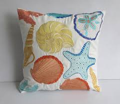 theme pillows coastal decor spaces tropical with pillow