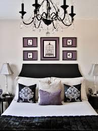 Master Bedroom Interior Design Purple Purple Bedroom With Black Furniture Izfurniture