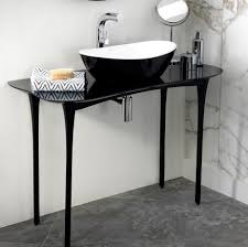 black stone bathroom sink bathroom basins counter top or wall hung in various materials
