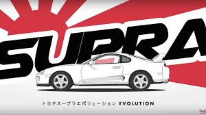 convertible toyota supra watch the toyota supra evolve from celica to supercar