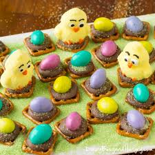 peanut butter eggs for easter easter egg peanut butter pretzel bites dizzy busy and hungry