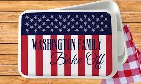 monogrammed serving dishes patriotic serving dish or flag monogram online groupon