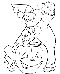 free halloween coloring pages kids print hallowen