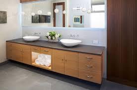 Dual Vanity Bathroom by Singular Double Vanity Bathrooms
