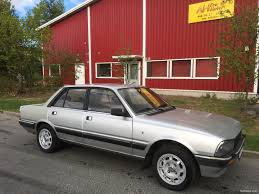 peugeot 505 coupe peugeot 505 gti 4d sedan 1986 used vehicle nettiauto