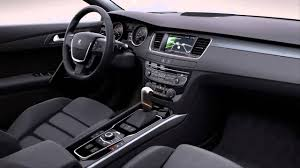 peugeot car interior car interior 2012 peugeot 508 1 6 turbo 165 cv allure youtube