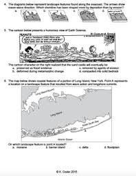 worksheet ocean wave erosion and deposition editable tpt