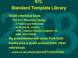 lecture 23 today standard template library programs in programs